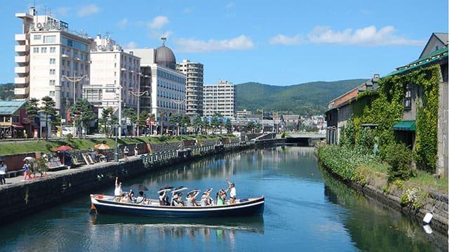 小樽運河クルーズイメージ